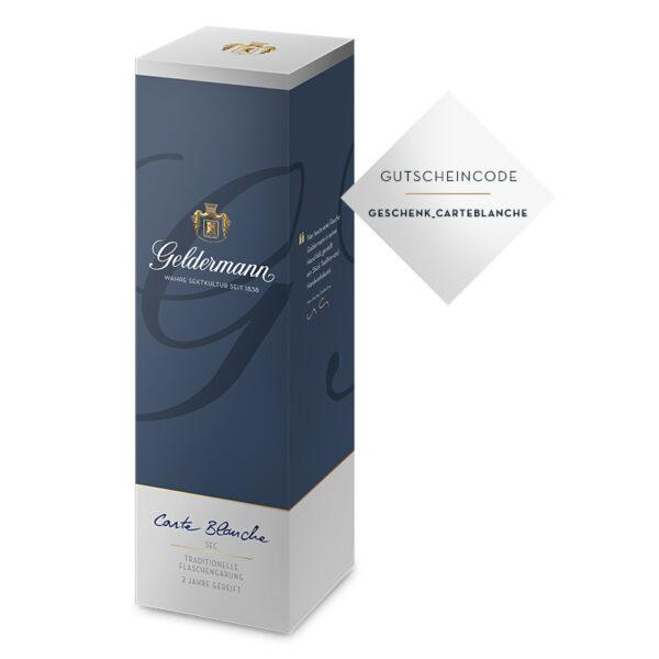 Geschenkverpackung Carte Blanche