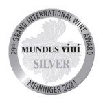 Mundus Vini Silbermedaille Summer Tasting 2021