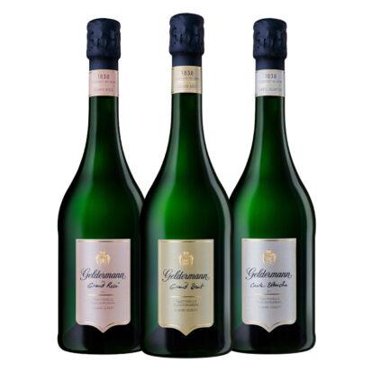 Les Grands (1 Grand Rosé, 1 Grand Brut, 1 Carte Blanche)