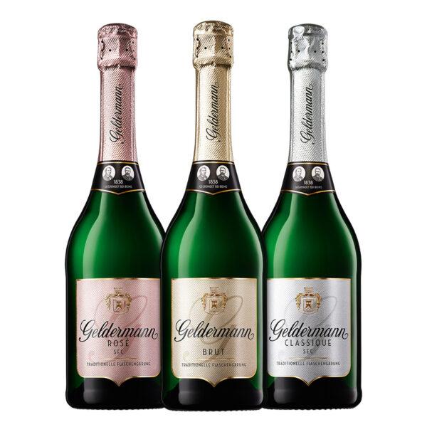 Les Premiers (1 Rosé, 1 Brut, 1 Classique)
